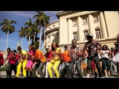 Los Van Van - great song - brilliant moves with a lovely Rueda!