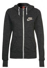 Nike Sportswear - GYM - Sweatjakke /Træningstrøjer - black/sail