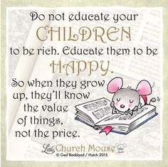 Amen! What was the most valuable lesson your parents taught you?