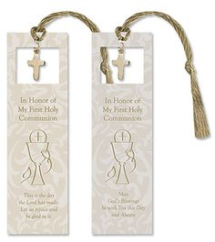 First Communion Bookmark,  Go To www.likegossip.com to get more Gossip News!