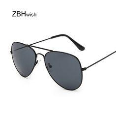 e02d35176c Vintage Pilot Sunglasses Women Men Shades Retro Classic Black Aviat Sun  Glasses Female Male Luxury Brand. Open. More information