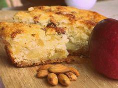 Paulina Cocina - Fotoreceta con PASO a PASO. Una tarta de manzanas muy fácil: receta sencilla de la tarta de manzanas más fácil que he visto en mi vida.