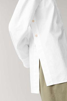 Classic White Shirt, White Shirts Women, Fashion Details, Fashion Design, Fashion Tips, Mode Inspiration, White Fashion, Look Cool, Hijab Fashion