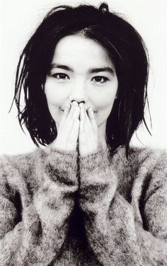 Bjork/ this portrait depicts a compassion rarely seen though a photo.