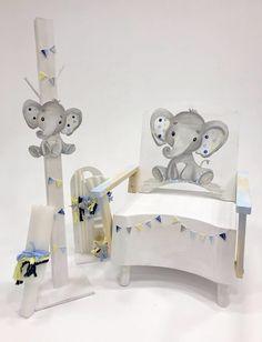 Little elephant chair Boy Christening, Boy Baptism, Baptism Ideas, Little Elephant, Toddler Bed, Chair, Baby, Furniture, Home Decor