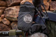 Bunyan Velo - packing for bicycle tour - Bartender handlebar, stem bag