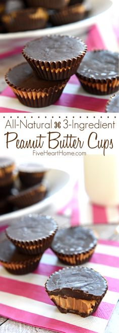 Easy Homemade Peanut Butter Cups FoodBlogs.com