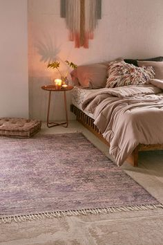 Alexi Printed Rug - Urban Outfitters