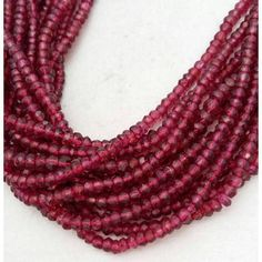 Loose stone beads jewelry making wholesale lot 20 strand of genuine red garnet 3.5-4mm faceted rondelle beads 13 strand by BeadsncrystalsStudio https://www.etsy.com/listing/582712561/loose-stone-beads-jewelry-making?ref=rss&utm_campaign=crowdfire&utm_content=crowdfire&utm_medium=social&utm_source=pinterest