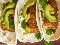 Fish Tacos And Cilantro Coleslaw 20 Minutes Max Recipe - Genius Kitchen