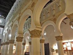 Places to see in ( Castile La Mancha - Spain ) Toledo Synagogue of Santa María la Blanca #instatraveling #travelingourplanet #travelingtheworld #lovetraveling #traveling #travel#worldtravel