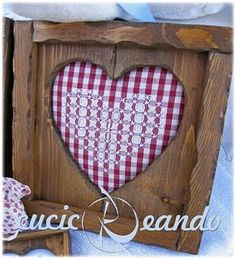 Cuore Rosso Chicken Scratch, Embroidery, Heart, Home, Needlepoint, Hearts, Crewel Embroidery, Embroidery Stitches