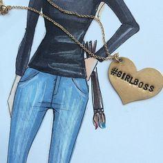 H. Nichols with the #GIRLBOSS Necklace    Get the necklace: http://nastygal.com/product/girlboss-necklace?utm_source=pinterest&utm_medium=smm&utm_term=ngdib&utm_content=clothing_optional&utm_campaign=pinterest_nastygal