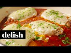 Cheesy Mozzarella Chicken | Delish | Jodeze Home and Garden