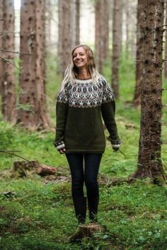 Icelandic Sweaters, Nordic Sweater, Knitting Charts, Fall Outfits, Vest, Turtle Neck, Pullover, Clothes For Women, Womens Fashion