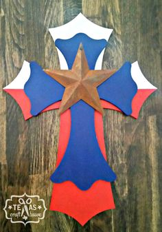 Texas Cross by TexasCraftHouse on Etsy