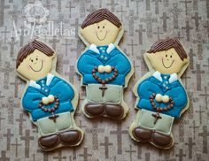 First Communion Cookies by Amigalletas on Etsy