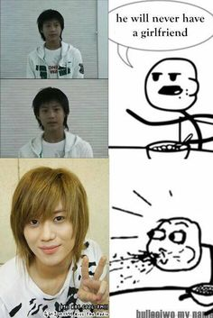 My thoughts exactly.... well, no, Taemin was adorable even as a kid...