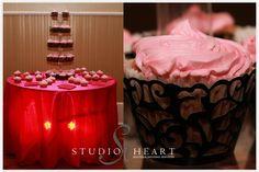 Royal Pink Couture Bridal Shower StudioHeart.com exclusive design