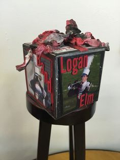 Angela Beavers created this 'Fabulous Photo Cube' on the Elizabeth Craft Designs blog. Read more here: http://blog.elizabethcraftdesigns.com/2015/10/fabulous-photo-cube/#comments