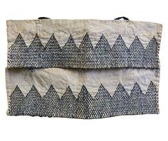 A Pair of Sashiko Stitched Akutogake: Rustic Heel Guards