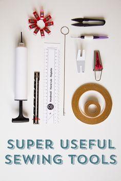 Mit praktischem Nähzubehör und Hilfsmitteln wie Wonderclips und Stylefix geht das Selbernähen noch viel besser!