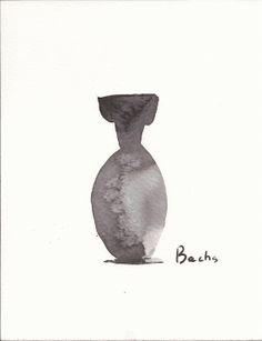 Scent bottle mauve by Artbachs on Etsy, €14.80