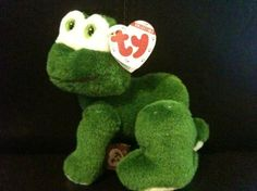"~NEW~TY Beanie Baby~""PRINCE"" The Frog~ From the ""Attic Treasures Collection""! MWMT & FREE S/H!"