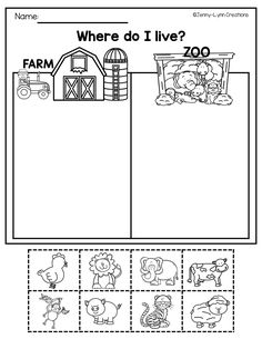 Farm Preschool Theme Pack If you are doing a Farm theme in your classroom, this is the pack for you!