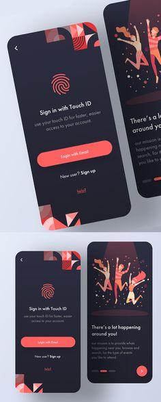 Modern Mobile App UI Design with Amazing UX - can find App design and more on our website.Modern Mobile App UI Design with Amazing UX - 9 Best App Design, App Ui Design, Design Blog, Dashboard Design, Portfolio Design, Game Design, Layout Design, Logo Design, Design Design