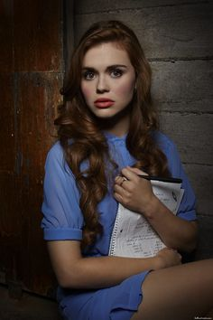 Lydia Martin - Teen Wolf (notice the journal says wake up over and over? looking back this was a clue to season 3)