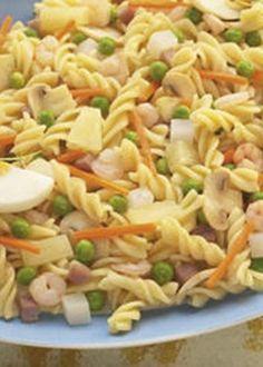 Salada de Ervilhas com Massa