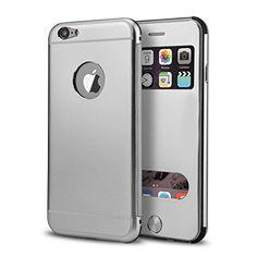 PhoneStar High End Aluminum Apple iPhone 6, 6s Schutz Hülle Flip-Cover mit Sichtfenster CNC gefräst - silber https://www.amazon.de/dp/B01M8MABQI/ref=cm_sw_r_pi_dp_x_zNjhyb1PE7NGA #highend #aluminium #silber #case #cnc #cover #apple #iphone