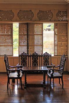 Filipino Architecture, Philippine Architecture, Filipino Interior Design, Filipino Art, Filipiniana, Bali Fashion, Enchanted Home, House Rooms, Old Houses