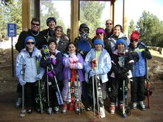 Skiing with the Nolan's and Mazzini's