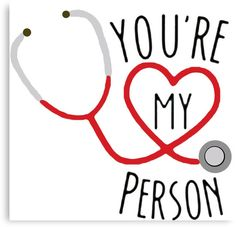 """Grey's Anatomy - You're My Person"""" Canvas Prints by muscra3 ..."""