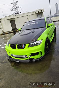 Modified Cars - Gaya Racing Nurburgring - BMW 320i http://modifikasiplus.com/modifikasi-bmw-320i-gaya-racing-nurburgring/