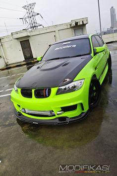 Modified Cars - Gaya Racing Nurburgring - BMW 320i http://modifikasiplus.com/modifikasi-bmw-320i-gaya-racing-nurburgring/