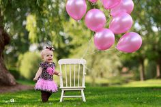 I am without a doubt going to use a shimmery/shiny color pink like these balloons!