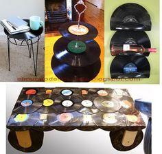 EL MUNDO DEL RECICLAJE: Recicla discos de vinilo