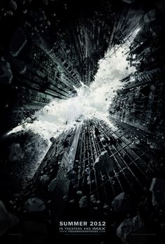 """official batman """"dark knight rises"""" movie poster by Ignition Print (movie poster company)"""