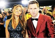 Antonella & Lionel Messi!! #SuchACuteCouple