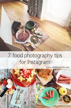 7 practical tips for food photography with your iPhone for Instagram - lighting, props, which apps to use for editing, and more