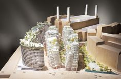 Foster and Gehry Reveal Designs for Battersea Power Station