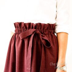 Skirts For Women – My WordPress Website Burgundy Skirt, Sewing Tutorials, Midi Skirt, Knitting, Skirts, How To Wear, Outfits, Clothes, Collection