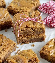 Fudgy Biscoff Swirl Brownies (image: #1)