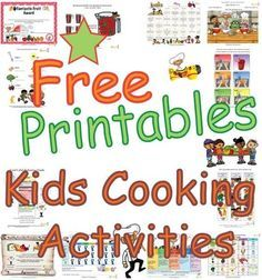 Kids' Cooking Classroom Activities- Teaching Children About Cooking