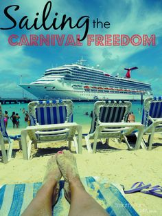 Carnival Freedom for Adventurous FUN! New updated kids program, additional restaurants like Guy's Burger Joint and more! A must for family travel!
