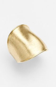 Free shipping and returns on Marco Bicego 'Lunaria' Wide Band Ring at Nordstrom.com. Carefully engraved 18-karat gold brings a warmly shimmering sheen to this extra-wide band ring that's tapered for comfort.