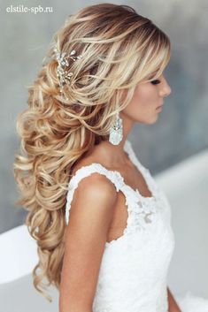Half Up Half Down Hairstyles With Charming Accessories picture 2